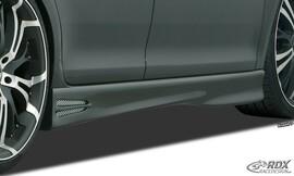 "Toyota Auris E180 12-15 Накладки на пороги ""GT4"""