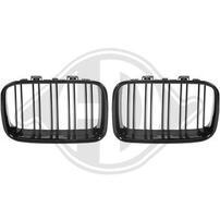 BMW E36 91-96 Решетки радиатора (ноздри) глянцевые