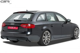 Audi A4 B8 Седан/Универсал 07-15 Накладка на задний бампер/диффузор