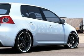 VW Golf 5 Накладки на пороги в стиле Golf 6 GTI