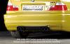BMW E46 M3 00- Купе/кабрио Накладка на задний бампер/диффузор Carbon Look