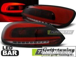 VW Scirocco 08-14 Фонари светодиодные, красно-тонированные Lightbar