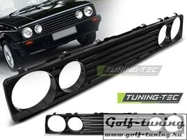 VW Golf 1 Решетка радиатора без значка черная