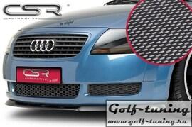 Audi TT 8N 98-06 Накладка на передний бампер Carbon Look