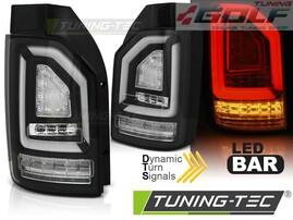 VW T6 15- Фонари светодиодные, led bar design черные