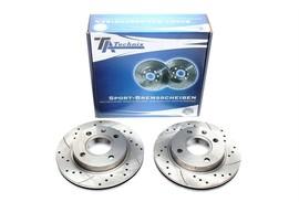 Ford/Mazda Комплект спортивных тормозных дисков