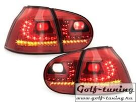 VW Golf 5 Фонари светодиодные, красные R-Line Style